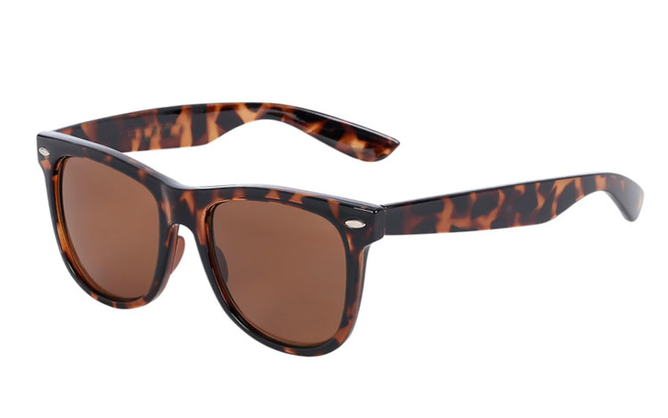 Wayfarer med brun glass - Design nr. 269